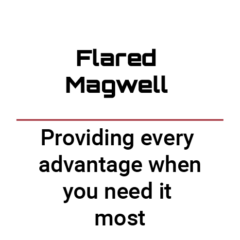 Flared Magwell text