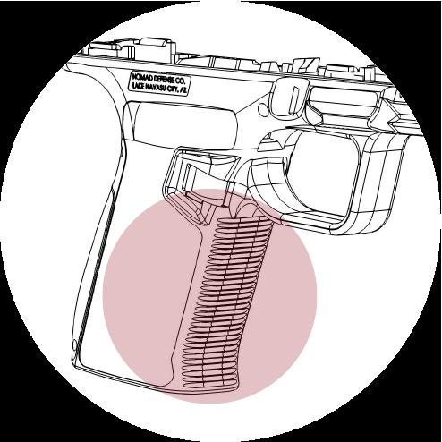 Contoured grip