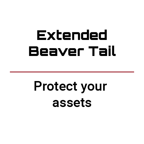 Extended tail text