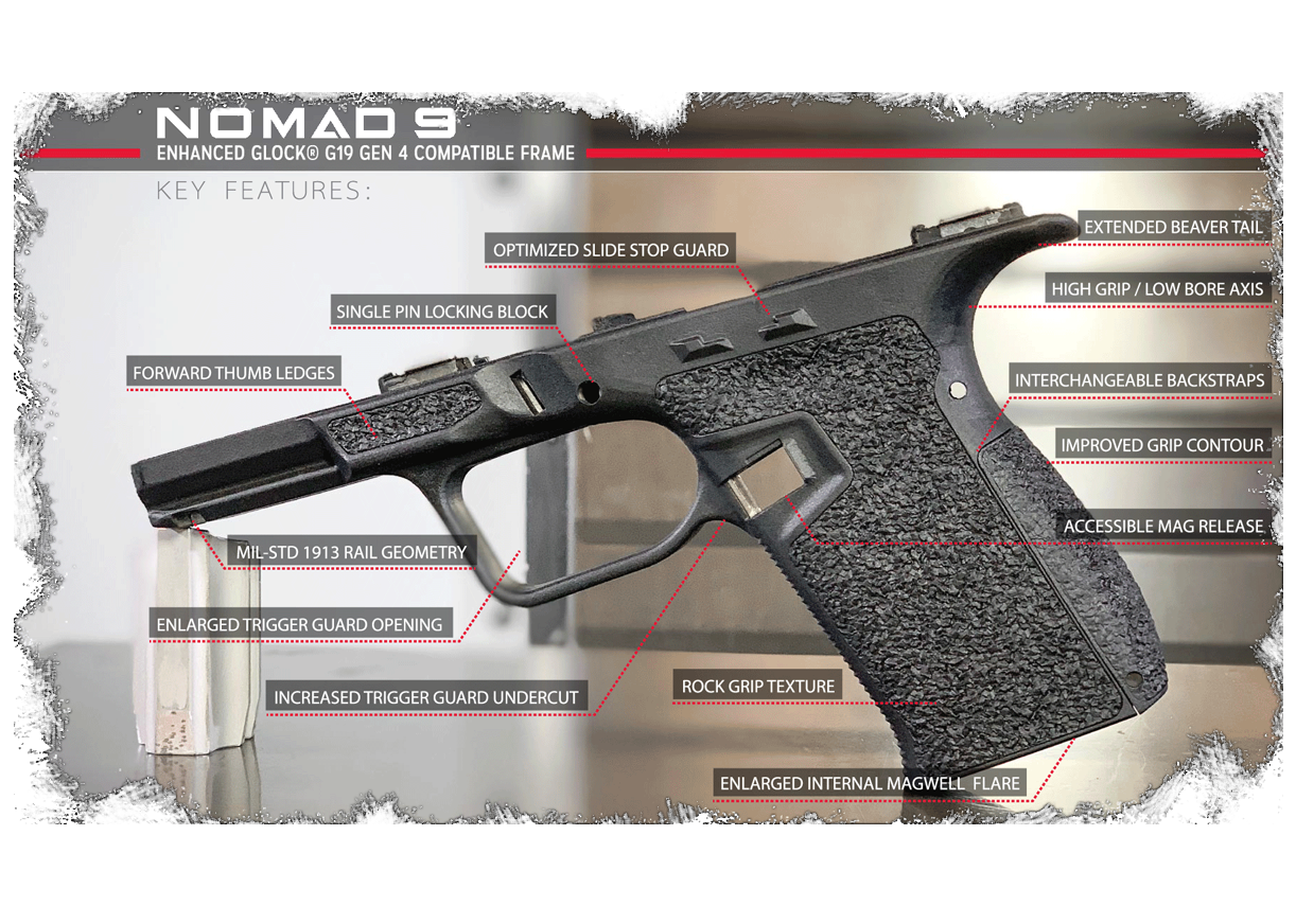 Nomad Defense Company: Introducing Nomad 9 frame